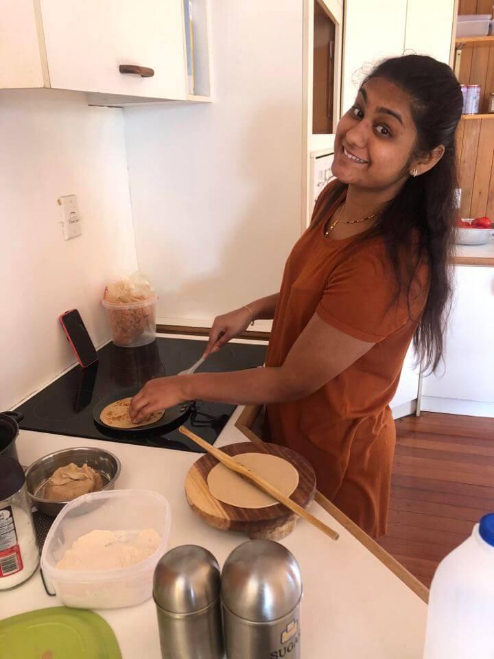 Ankita cooking
