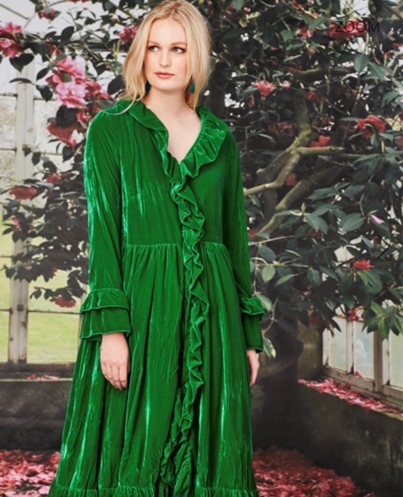 Fashion Trends 2020 - green velvet