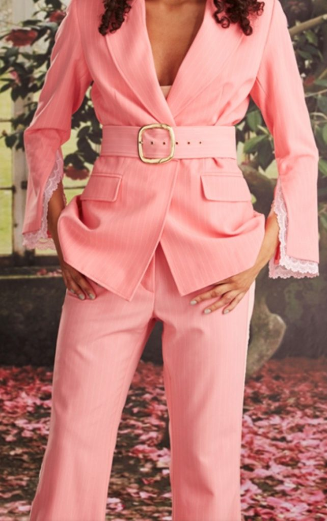Fashion Trends 2020 pink suit