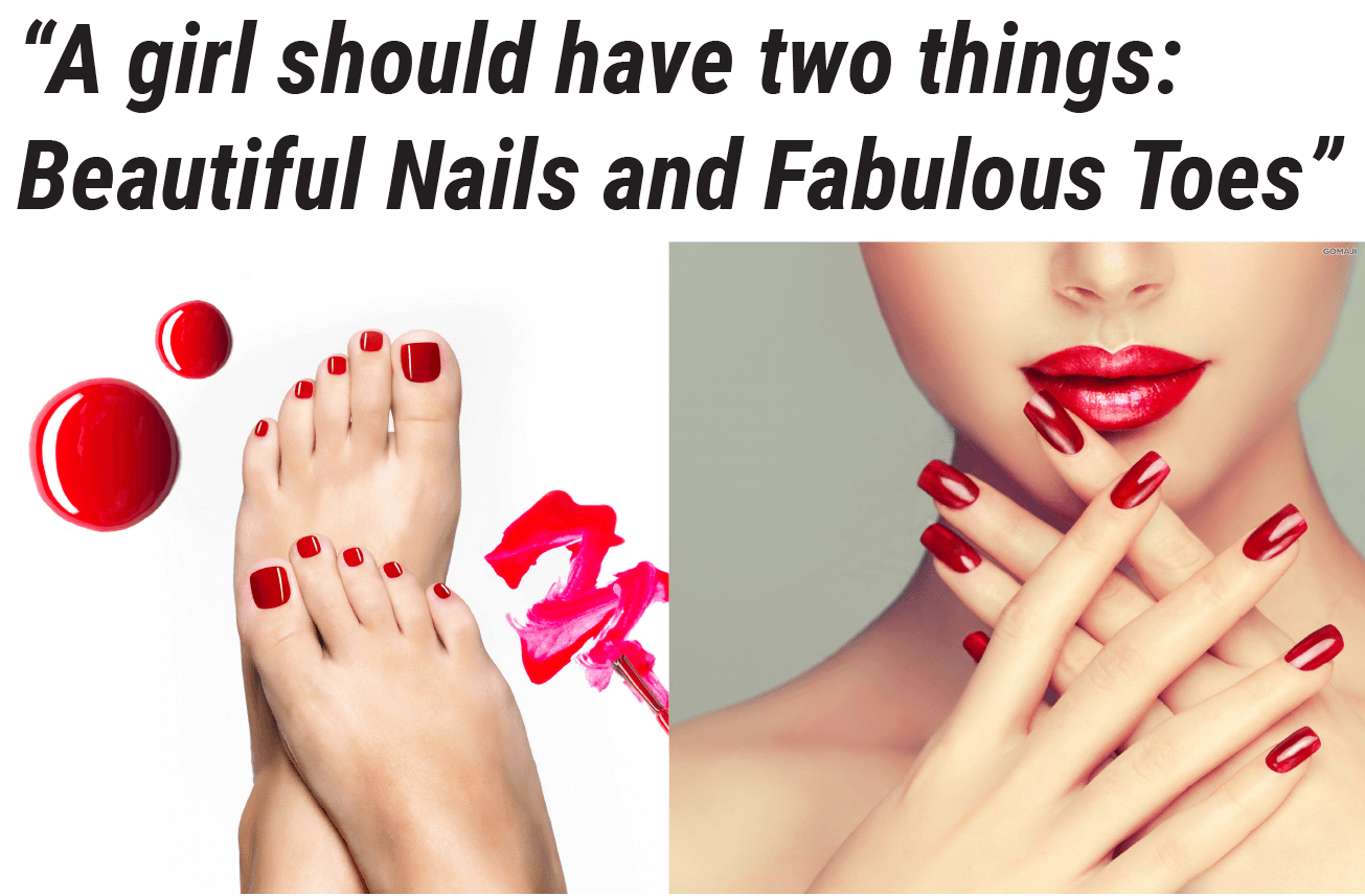 manicures and pedicures Christchurch V for hair and beauty