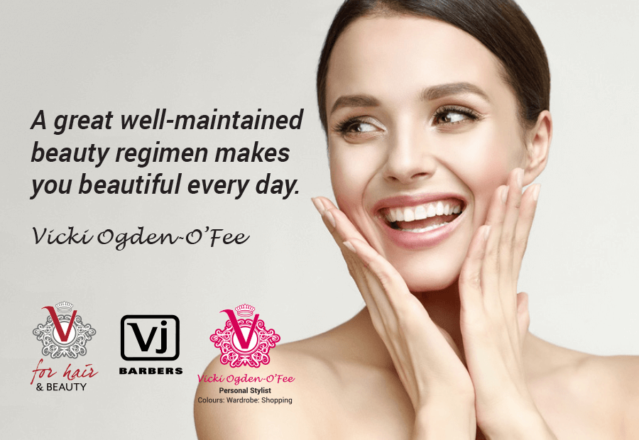 Beauty Regime quote by vicki