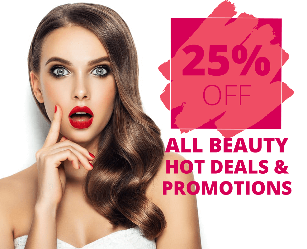 All beauty hot deals V for hair and beauty