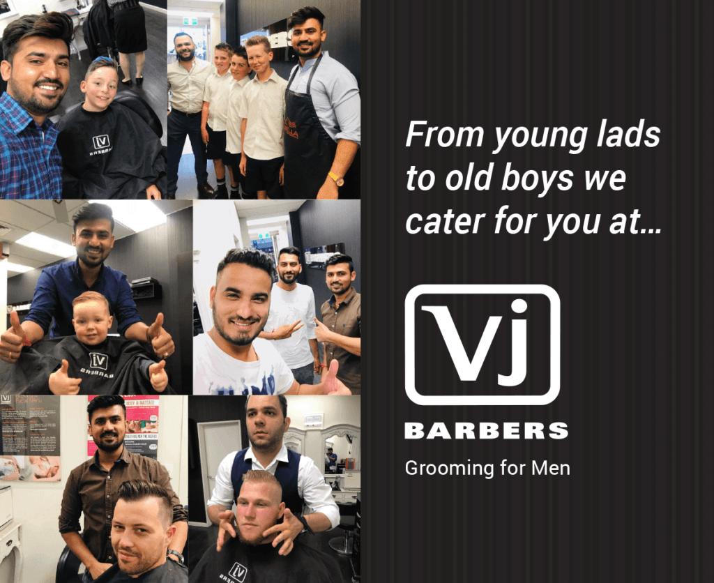 VJ Barbers - Men's Cuts, Christchurch, Merivale