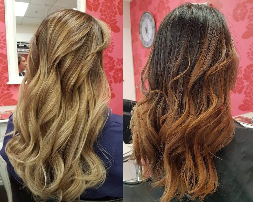 Balayage and Ombre - V for Hair and Beauty, Merivale