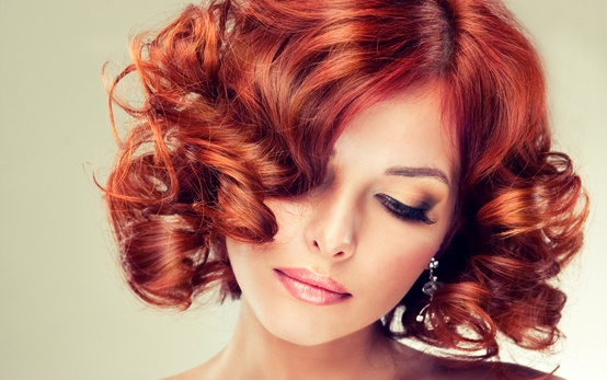 curly red hair V for hair and beauty merivale, christchurch