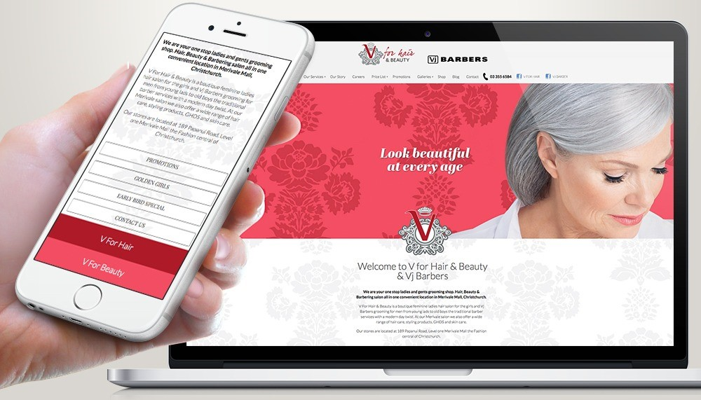 V for Hair and Beauty online store hair barbering