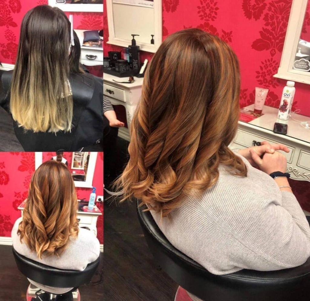 V for Hair and Beauty - Kumars client