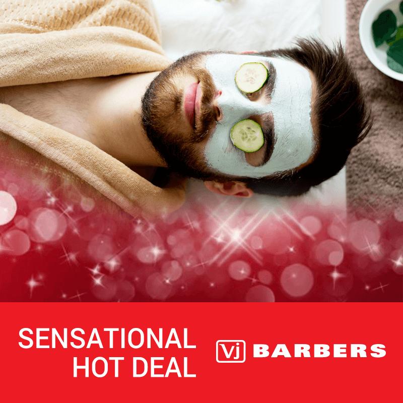 Men's Grooming Facial Treatment Package - VJ Barbers