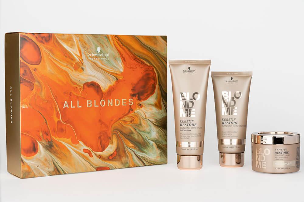 Schwarzkopf All Blondes Christmas Pack
