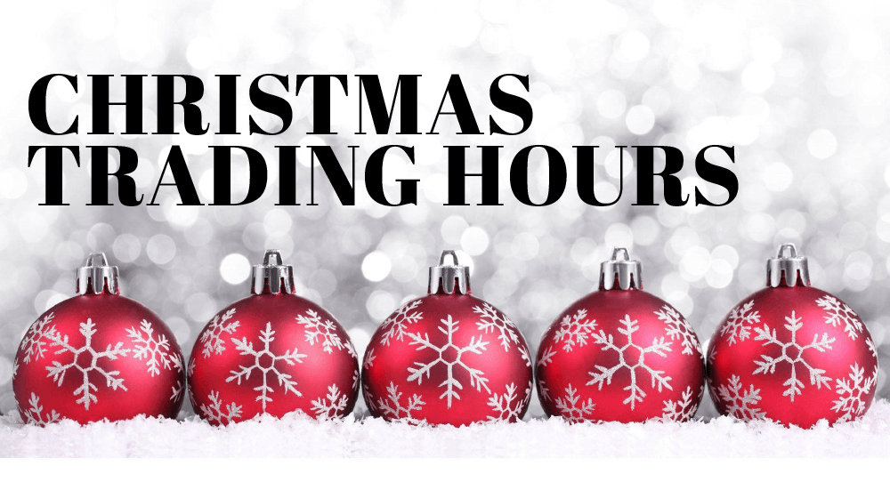 V for Hair and Beauty Christmas Trading Hours