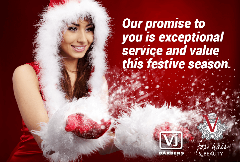 V for Hair Christmas Our Promise to you