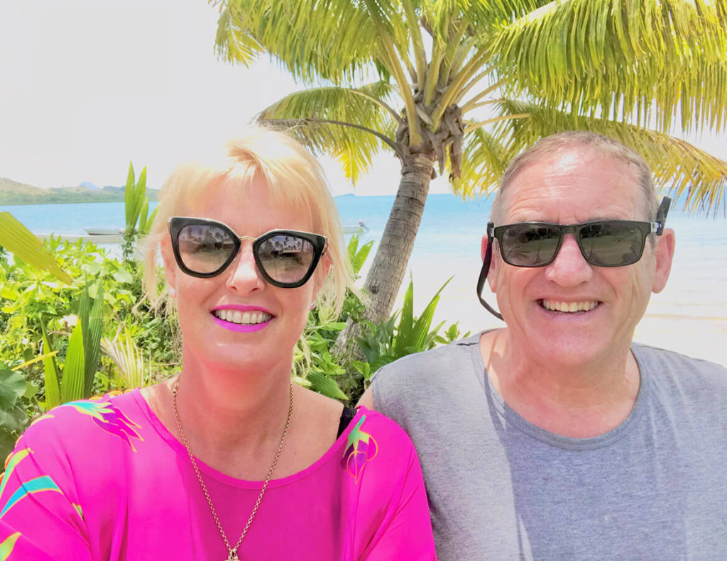 Vicki - V for Hair goes on holiday in Fiji