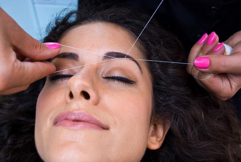 Threading - V for Hair & Beauty, Merivale