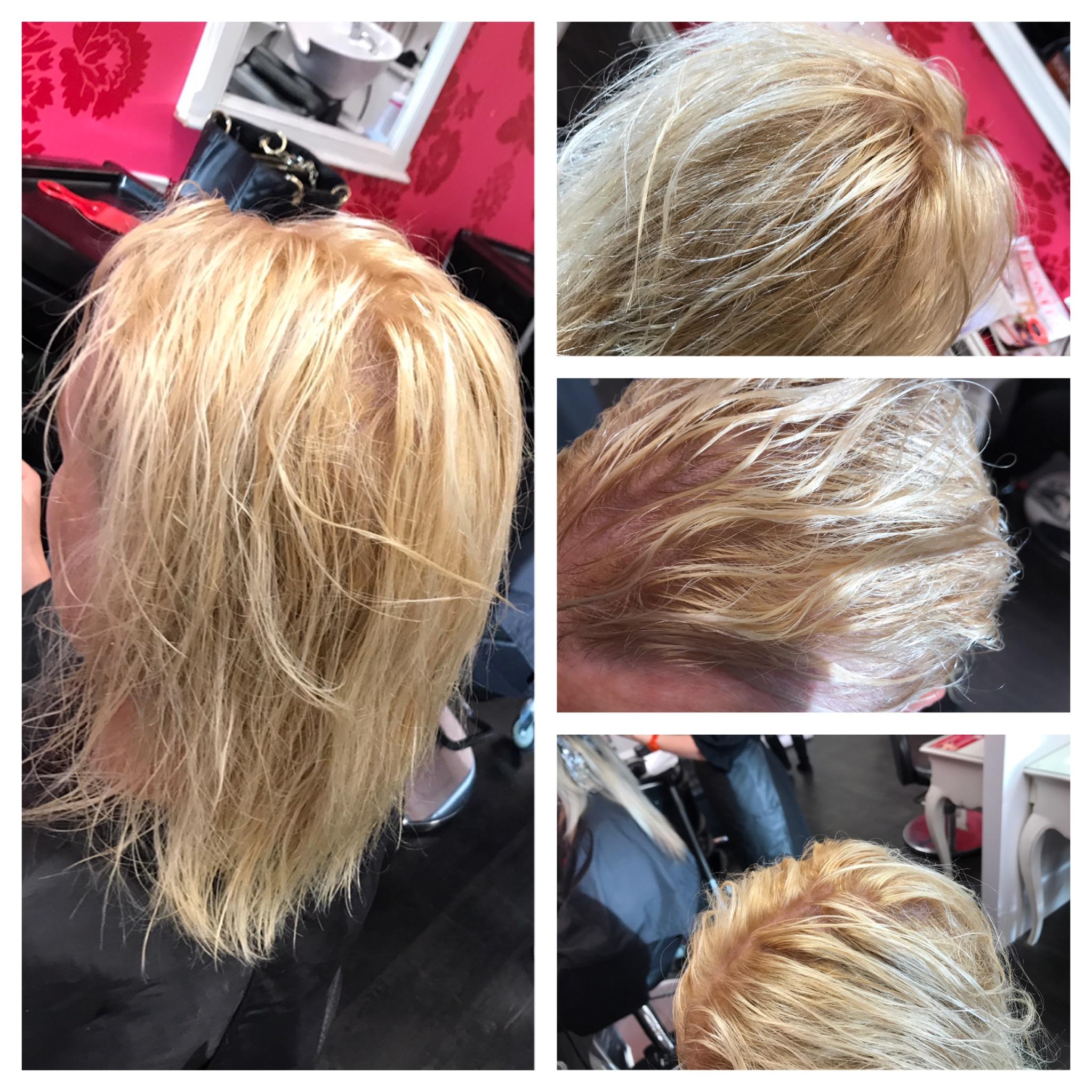 lightened hair, pretoner at v for hair and beauty merivale