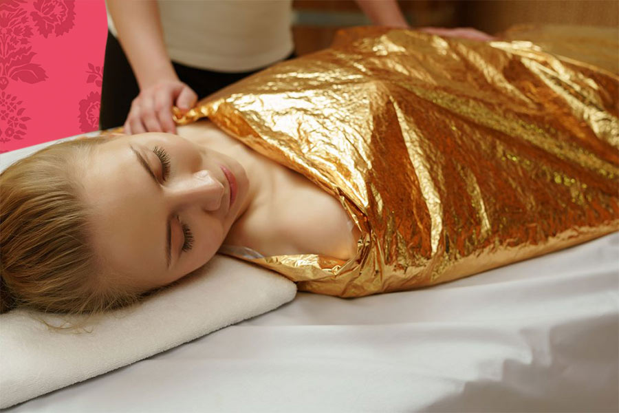 Body Wrap at V for Hair and Beauty, Merviale, Christchurch