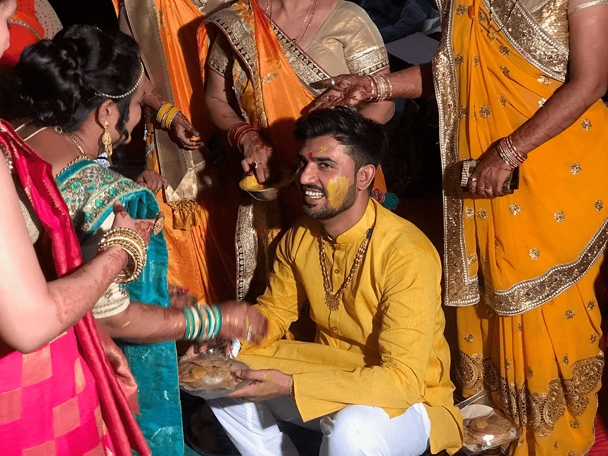 V for Hair and Beauty - Gokuls Wedding Ceremony