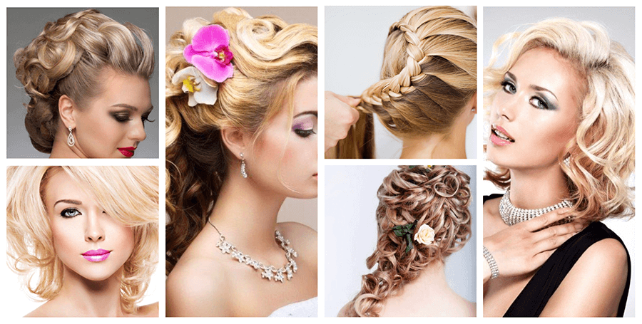 Hair up styling for special occasion
