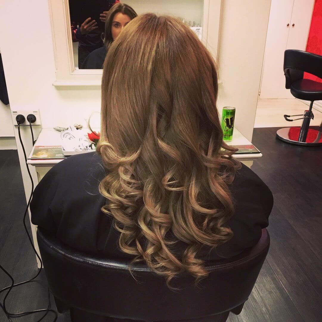 Long Classic waves, Styled by Kumar at V for Hair and Beauty Merivale