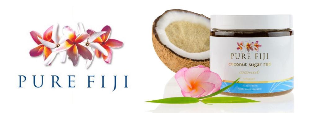 Pure Fiji Sugar Scrub at V for Hair and Beauty Merivale Christchurch