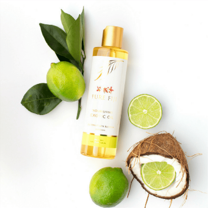Pure Fiji Exotic oil, perfect hydration after your spray tan