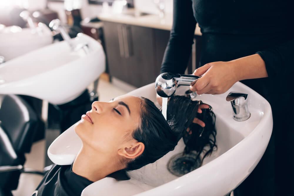 Keratin Smoothing - washing hair