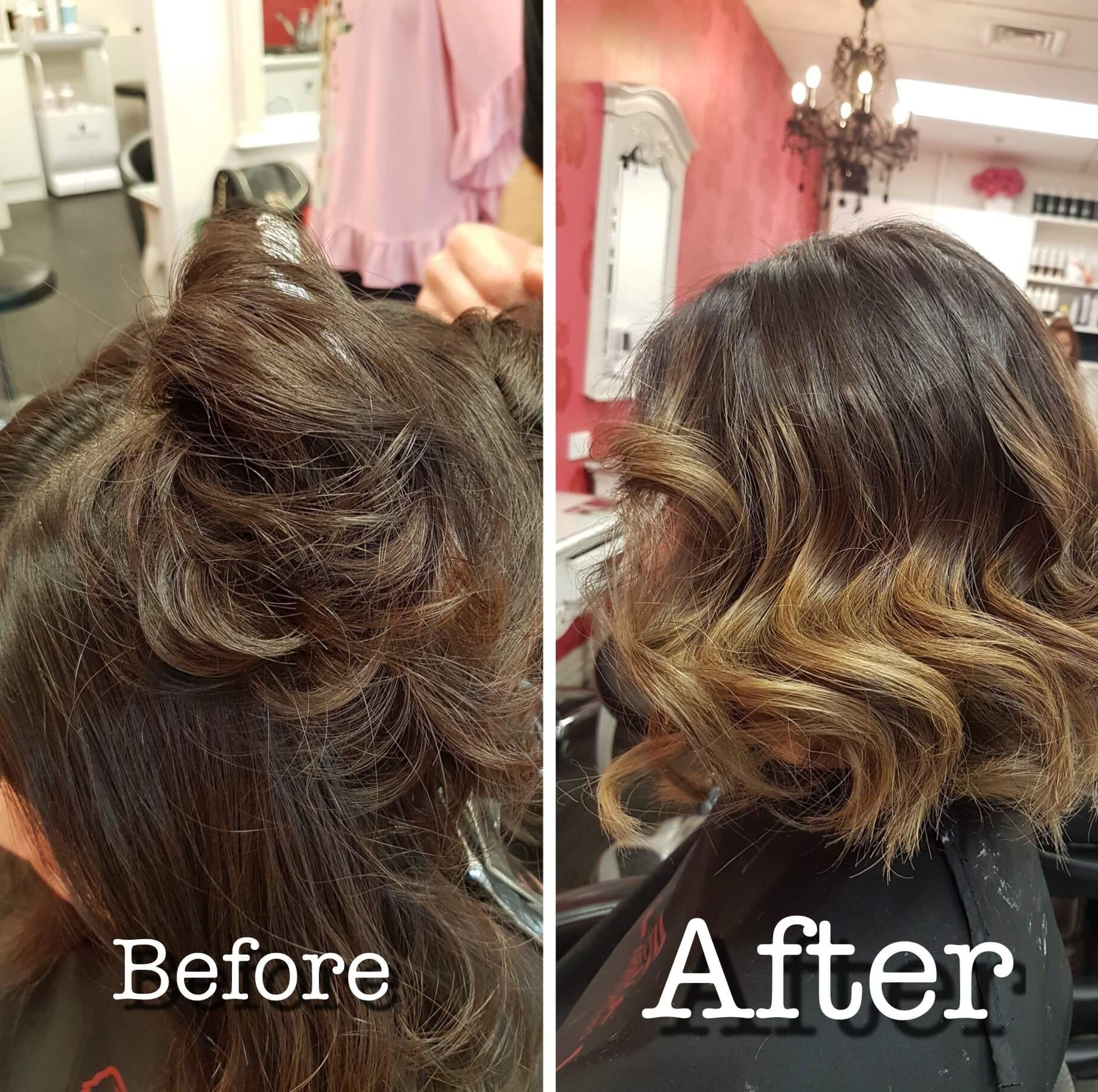 Ombre by Executive Stylist Daniel.