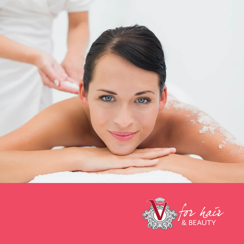 Body Exfoliation and Massage Package - V for Hair & Beauty