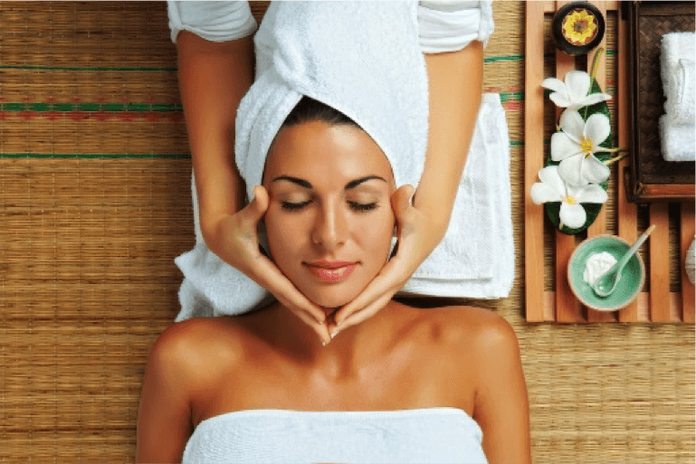 Relaxing Facial V for hair and beauty