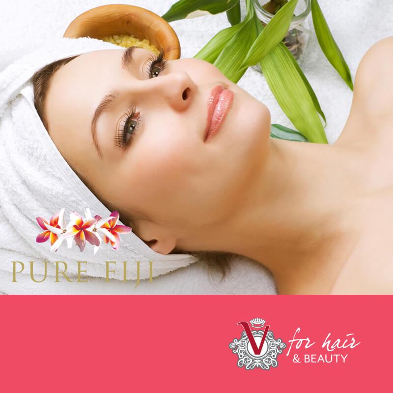 Pure Fiji Hydra-Lift Facial - V for Hair & Beauty