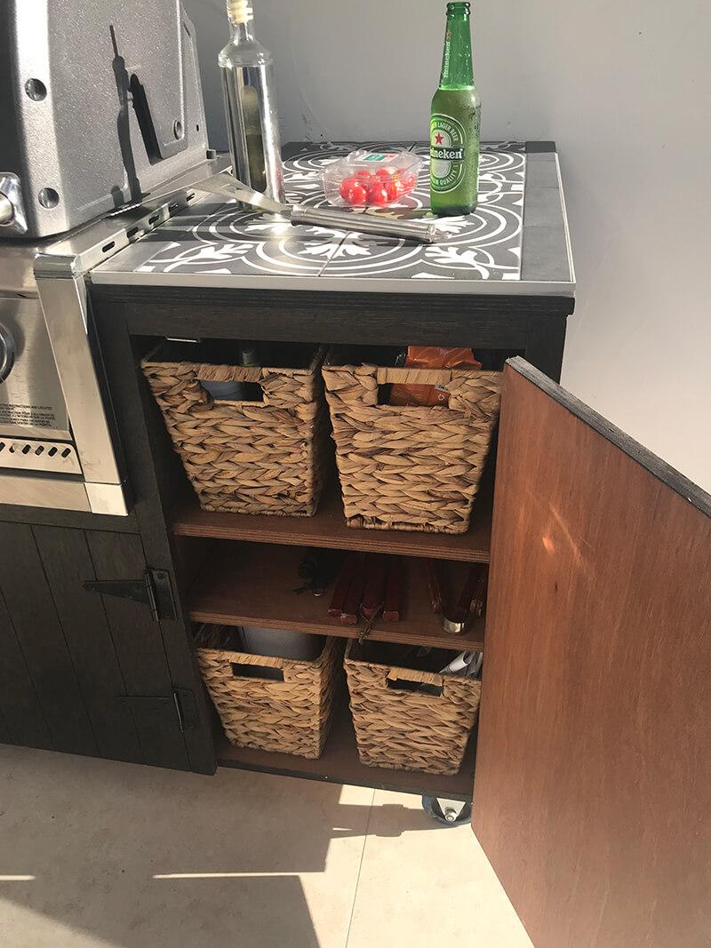 Portable BBQ Kitchen