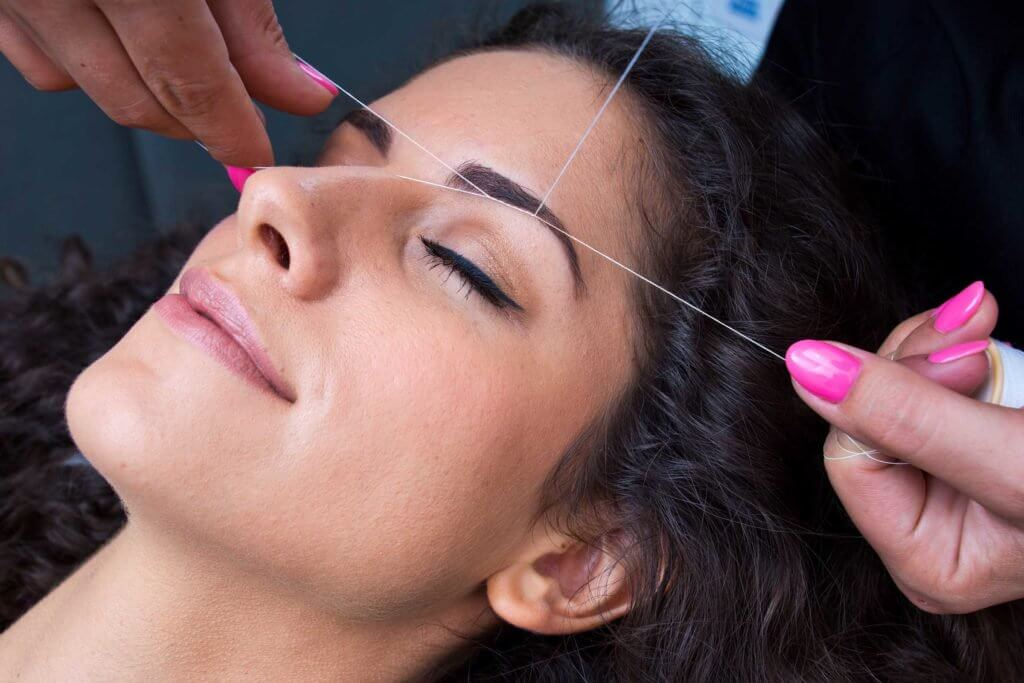 Threading - V for Hair and Beauty