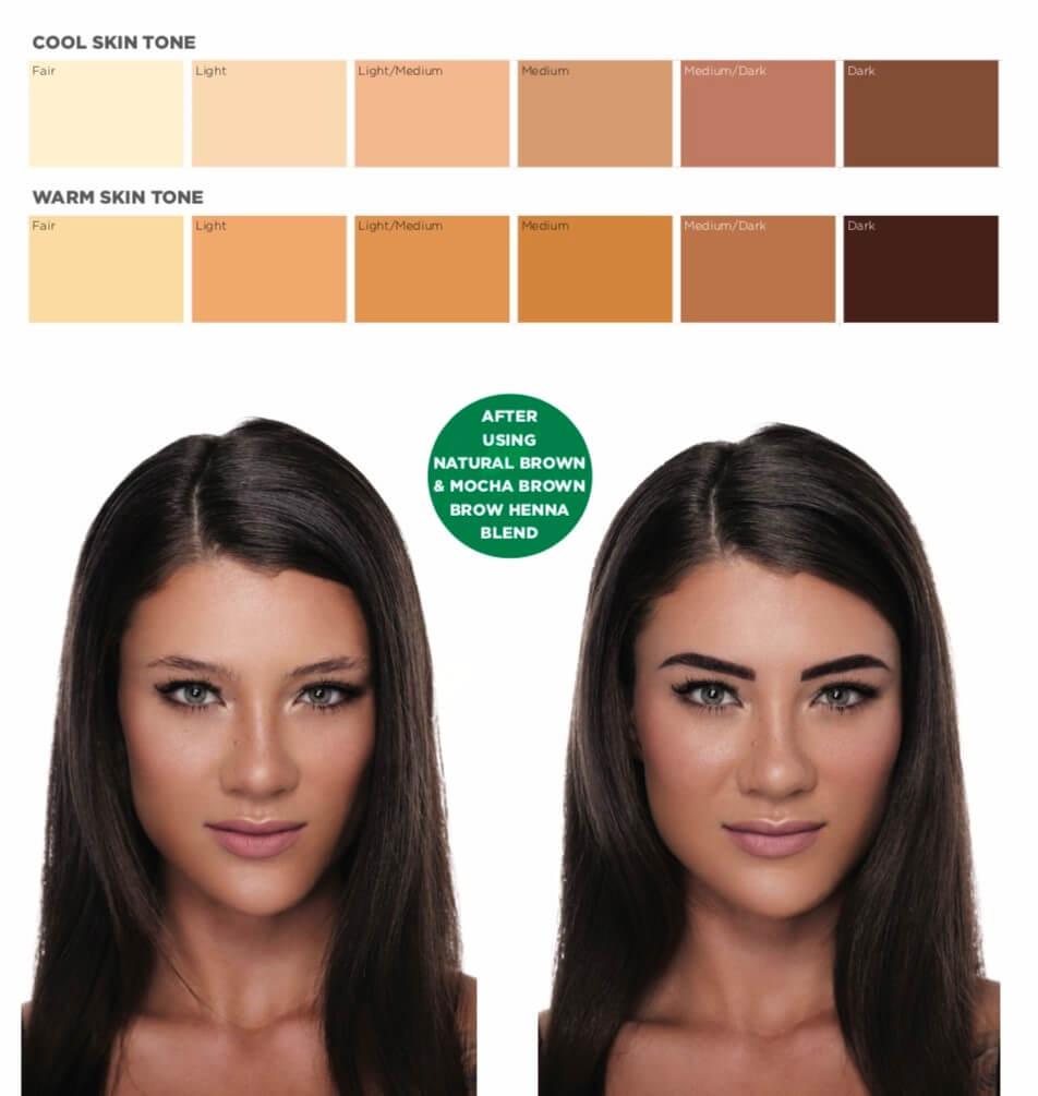 V for Hair & Beauty - Henna Brows - Merivale, Christchurch