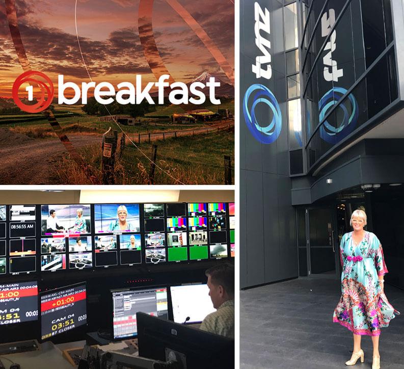 V for Hair - Going Grey Gracefully TVNZ Breakfast Show