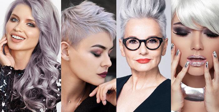 V for Hair - Going Grey Gracefully