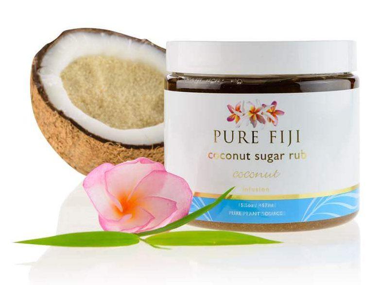 Pure Fiji Coconut sugar rub.