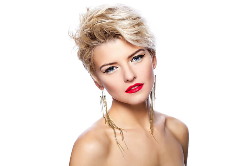 Choose a hair colour that fits your skin tone