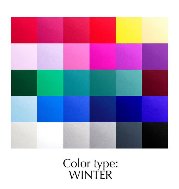 Colour type: Winter