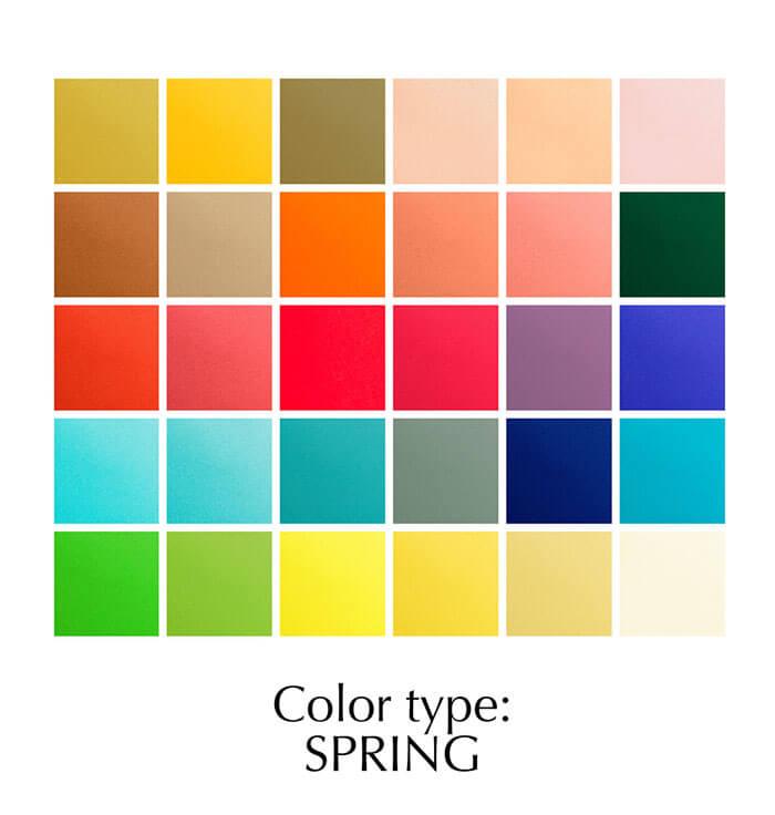 Colour type: Spring