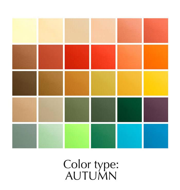 Colour type: Autumn