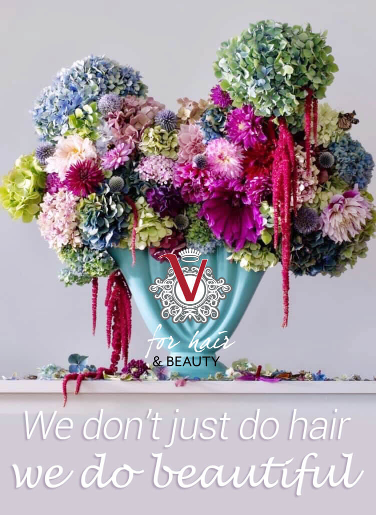 At V for Hair - We don't just do hair - we do beautiful
