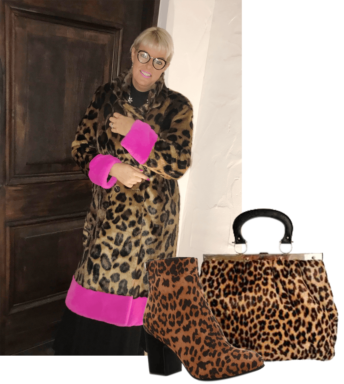 Vicki wears Trelise Cooper