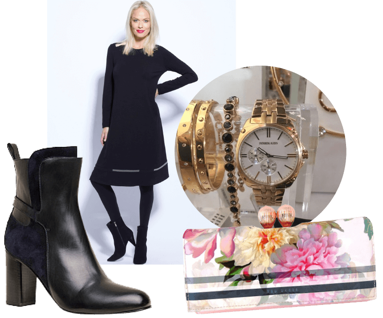 Winter Fashion - Navy