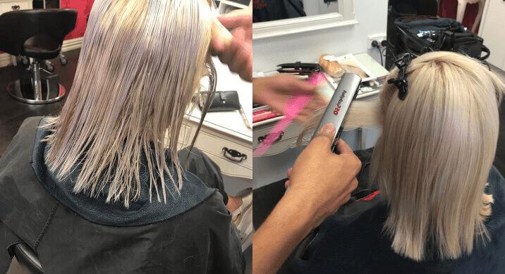 Keratin Process - V for Hair and Beauty, Merivale
