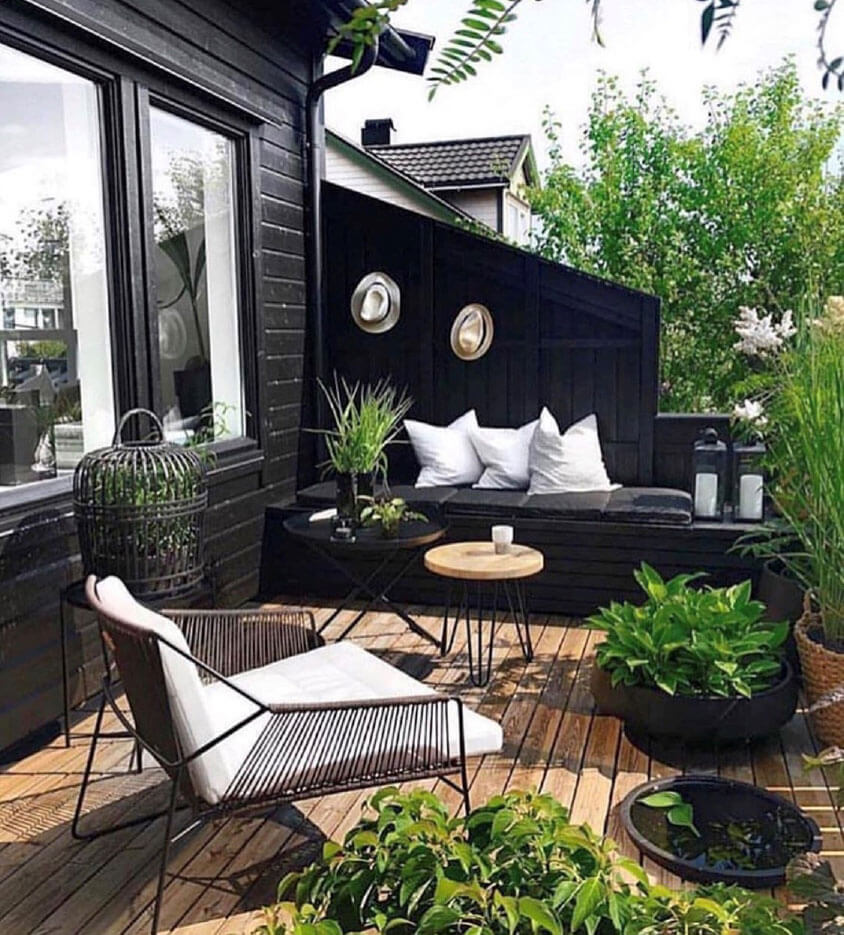 Creating beautiful outdoor spaces and feasts