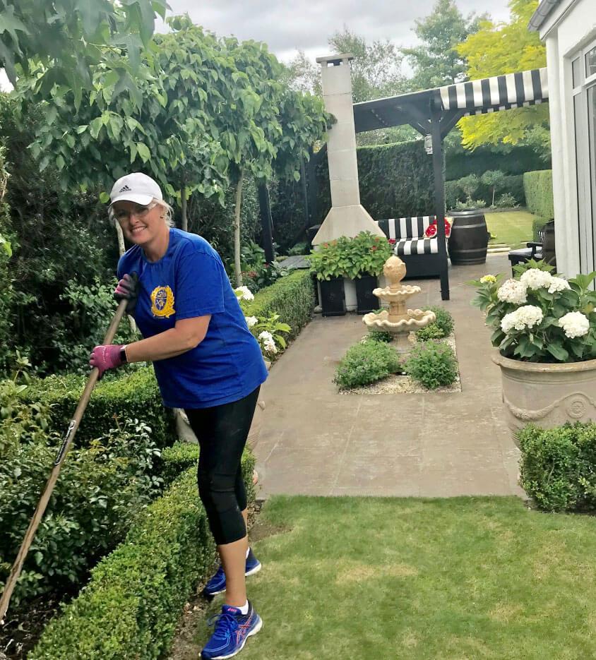 Vicki Gardening