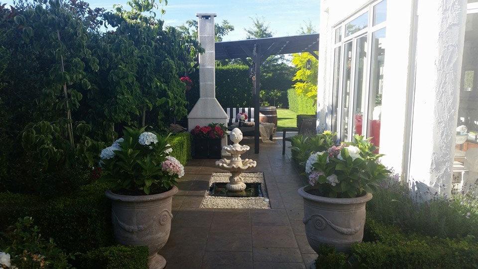 Vicki's Garden , creating relaxing spaces.