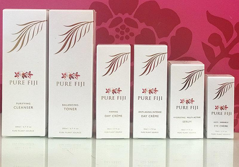 Vicki's Morning Pure Fiji skin care regime