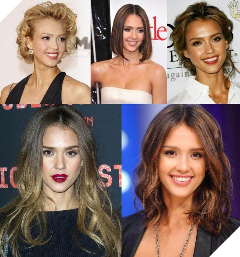 Jessica Alba changes things up and is constantly classy, sassy and on trend.