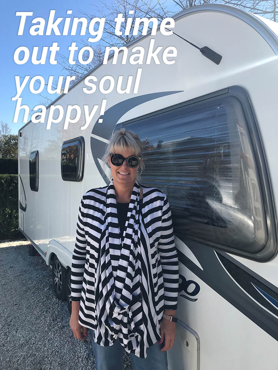 Taking time out to make your soul happy