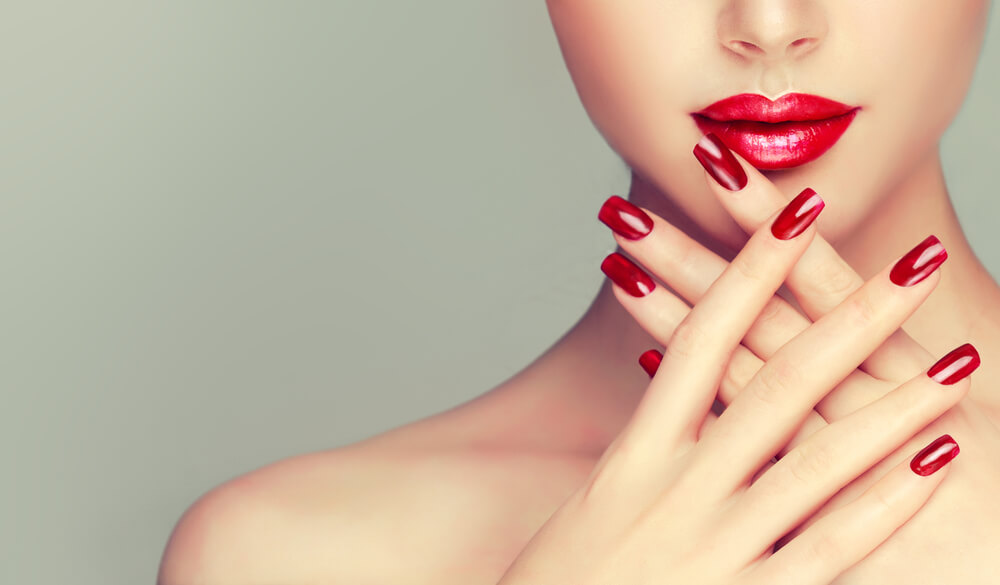 Manicure at V for Hair & Beauty, Merivale